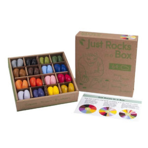 Crayon Rocks, Just Rocks in a box 64, 16 kleuren