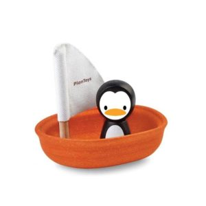 PlanToys Boot Pinguïn